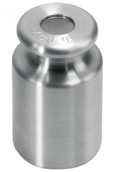 Einzelgewicht OIML M1 Knopfform Edelstahl feingedreht